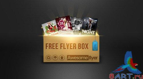 Flyer Template Bundle Box