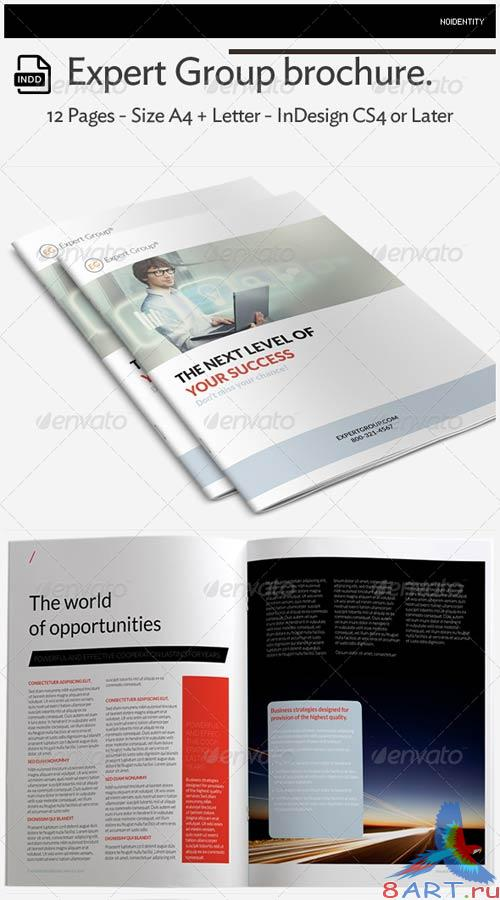 GraphicRiver Expert Group Brochure