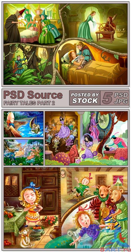 PSD Source - Fairy Tales 2