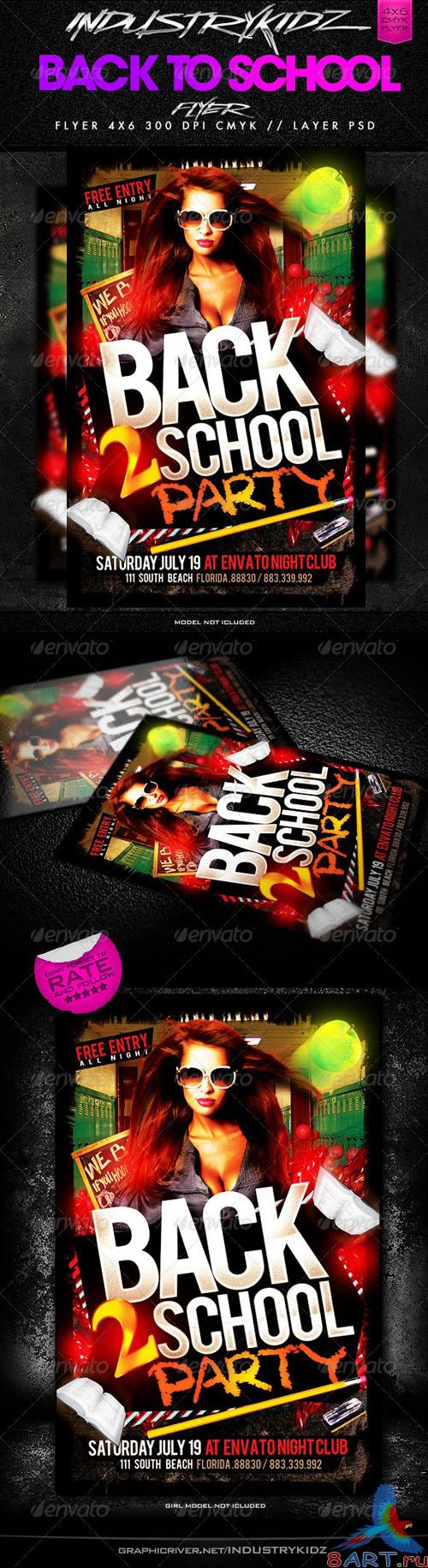 GraphicRiver - Back to School Flyer 2704000