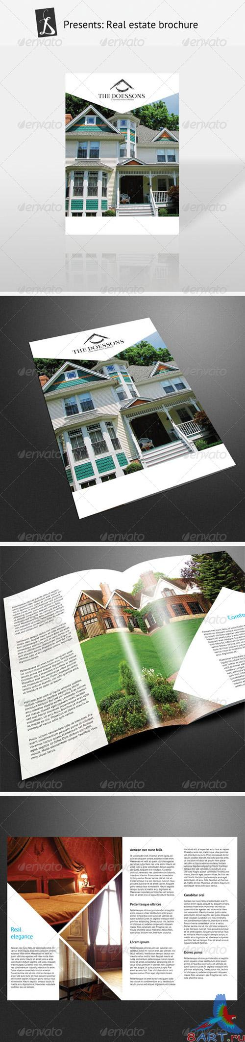 Real Estate Brochure - GraphicRiver