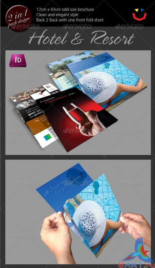GraphicRiver Hotel and Resort Brochure