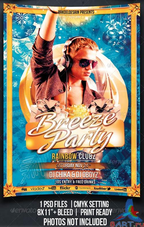 GraphicRiver Breeze Party Flyer