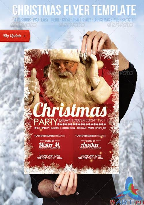 GraphicRiver Christmas - Flyer Template 553296
