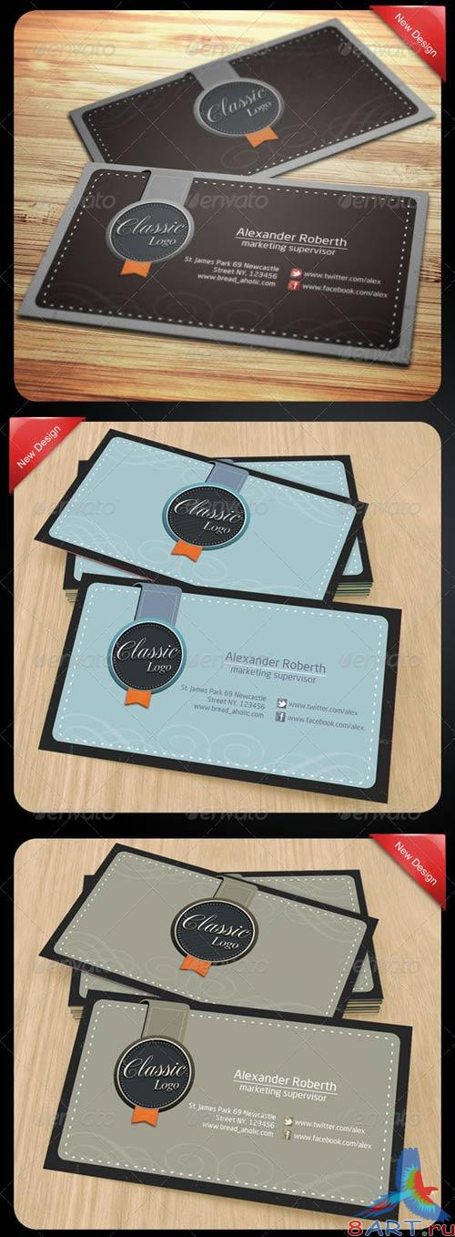 GraphicRiver Classic Name Card