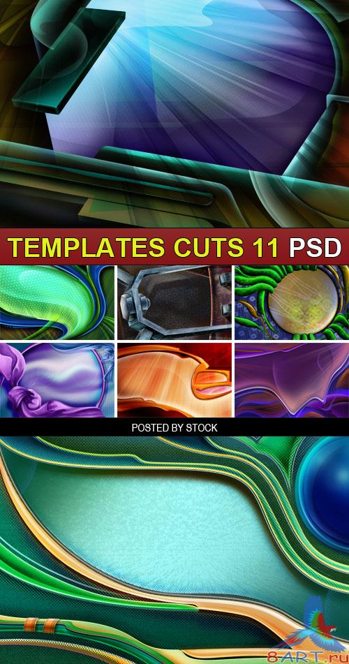 PSD Source - Templates cuts 11
