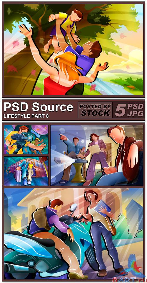 PSD Source - Lifestyle 8