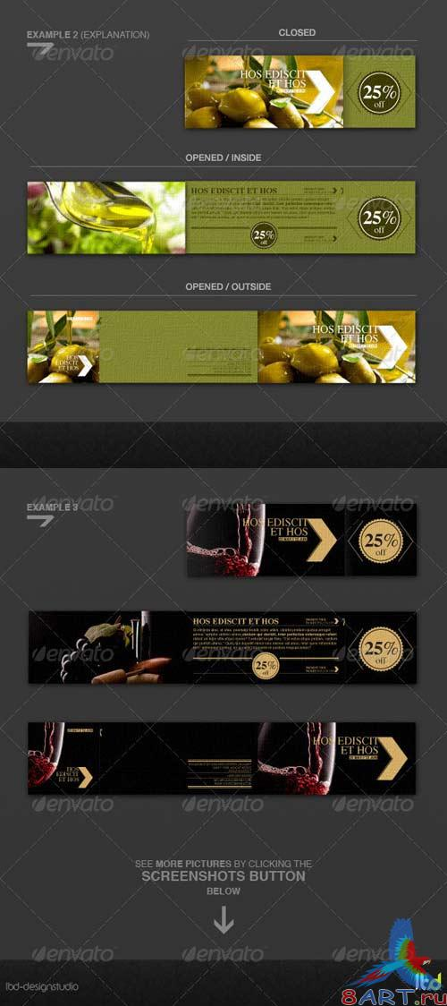 GraphicRiver Promotional Flyer With Detachable Discount Coupon