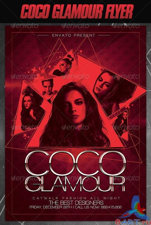 GraphicRiver Coco Glamour Flyer