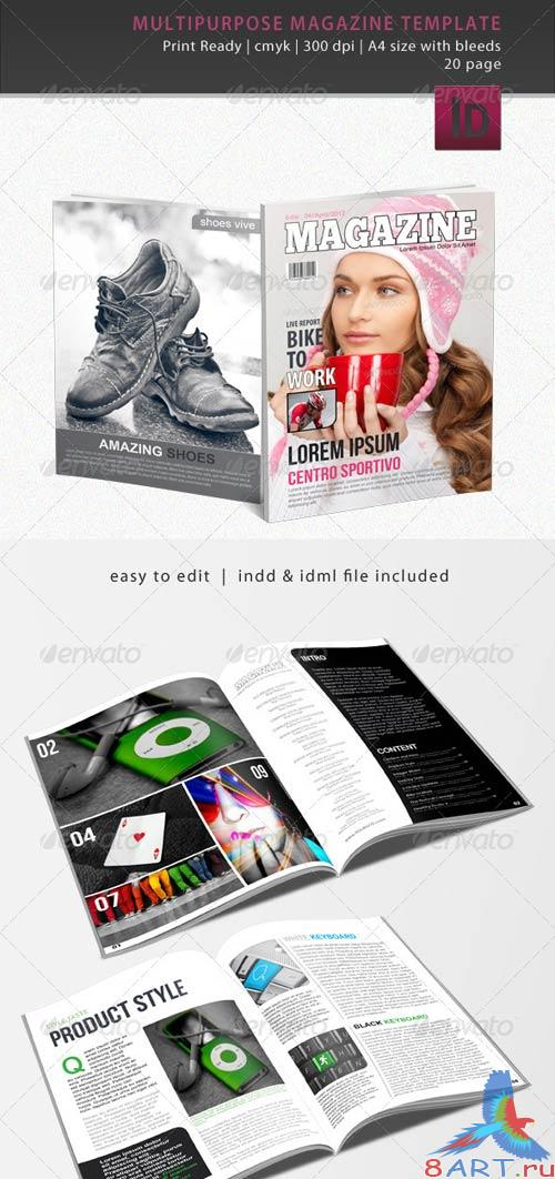 GraphicRiver Multipurpose Magazine Template