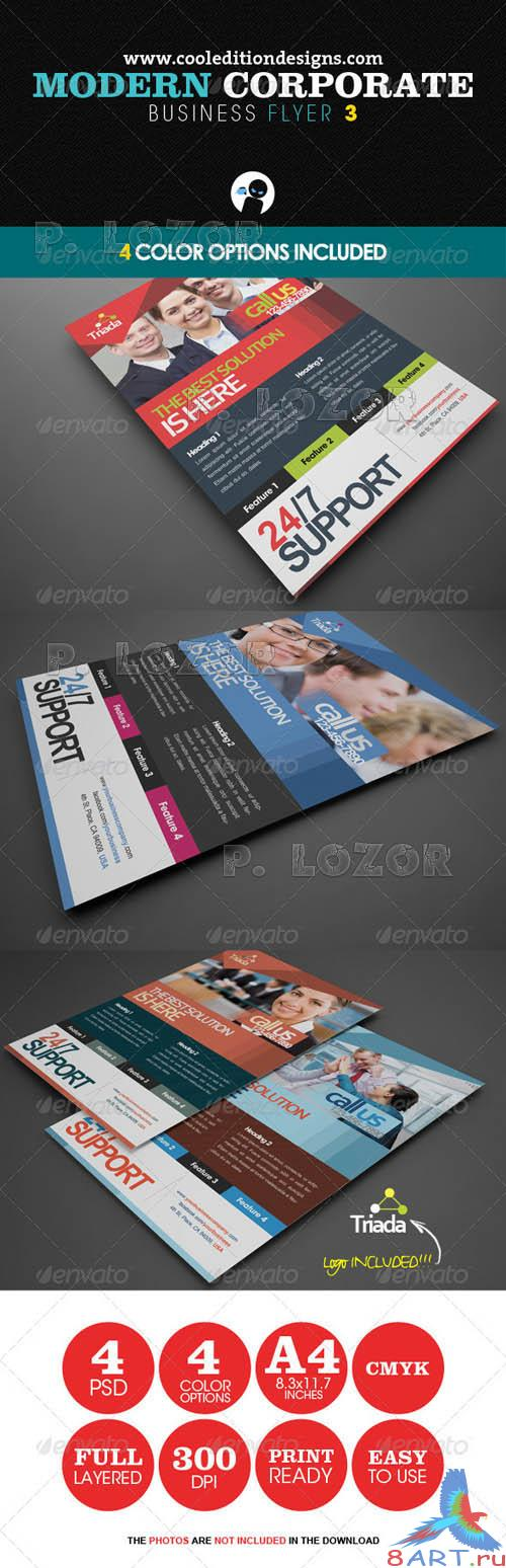 Graphicriver Modern Corporate Business Flyer 3