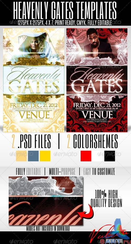 GraphicRiver Heavenly Gates Flyer Templates
