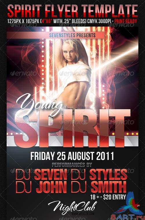 GraphicRiver Spirit Party Flyer