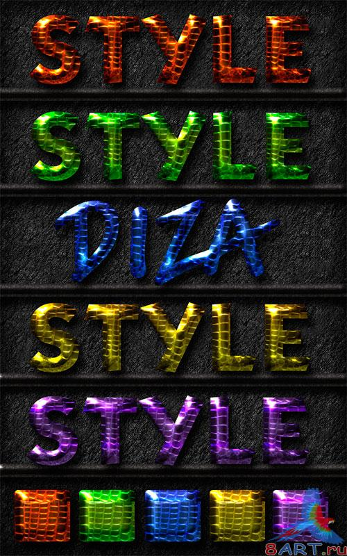 Text styles by Diza - 10