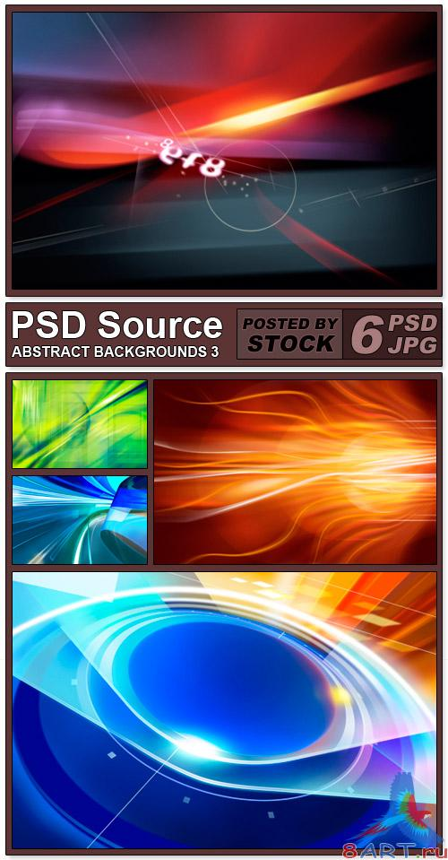 PSD Source - Abstract backgrounds 3